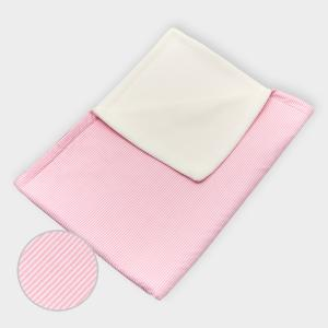 miniFifia Babydecke Streifen rosa