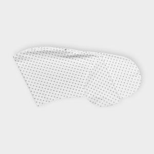 KraftKids Stillkissenbezug graue Punkte auf Weiss