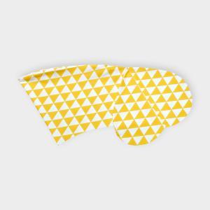 KraftKids Stillkissenbezug gelbe Dreiecke