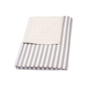 KraftKids Babydecke dicke Streifen grau