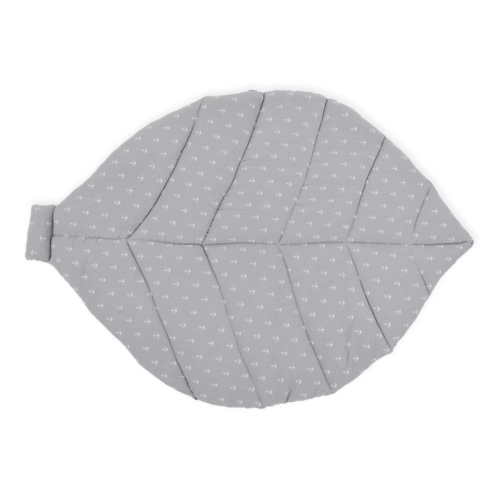 KraftKids Spielmatte Musselin grau Anker