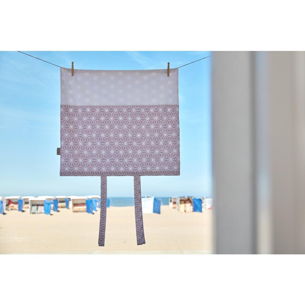 KraftKids Bezug für Wickeltischauflage weiße Diamante auf Cameo Rosa