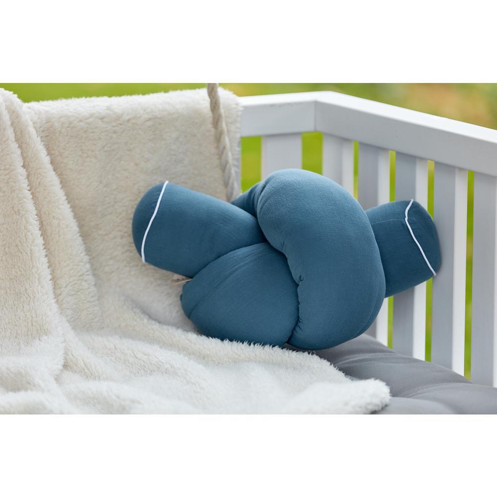 KraftKids Bettrolle Musselin blau Stärke: 10 cm, Rollenlänge 140 cm