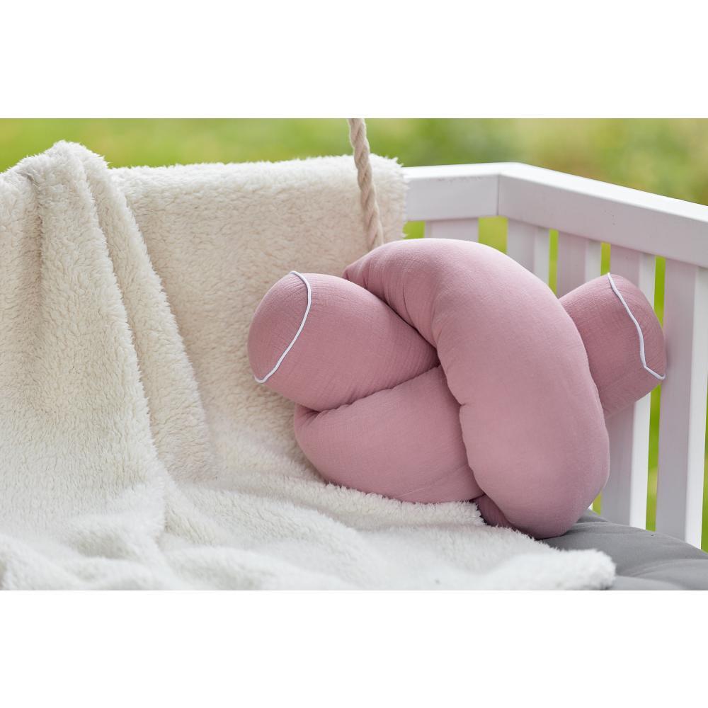 KraftKids Bettrolle Musselin rosa Stärke: 10 cm, Rollenlänge 200 cm