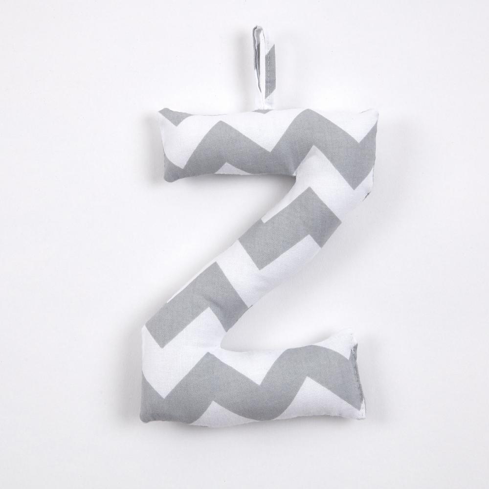 KraftKids Buchstaben Buchstaben aus Stoff gefüllt zur Auswahl von A bis Z
