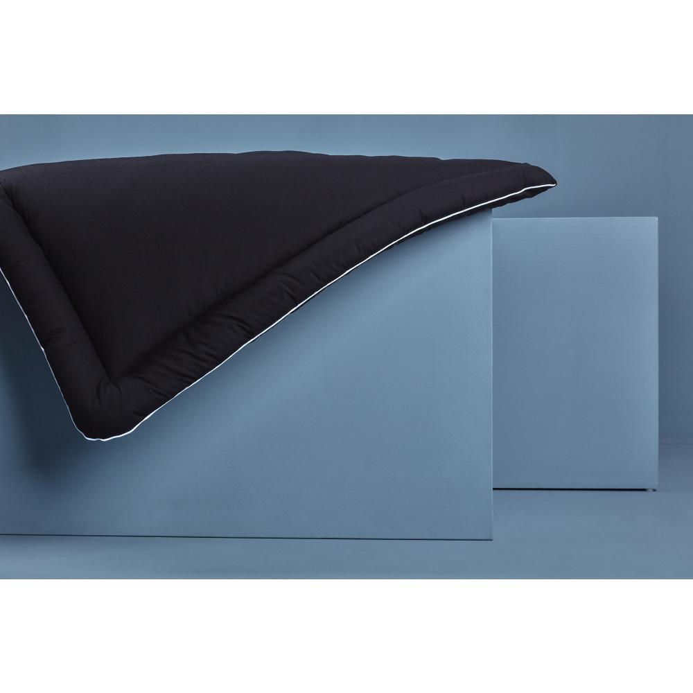 KraftKids Wickelauflage Unischwarz breit 78 x tief 78 cm z. B. für MALM oder HEMNES Kommodenaufsatz von KraftKids