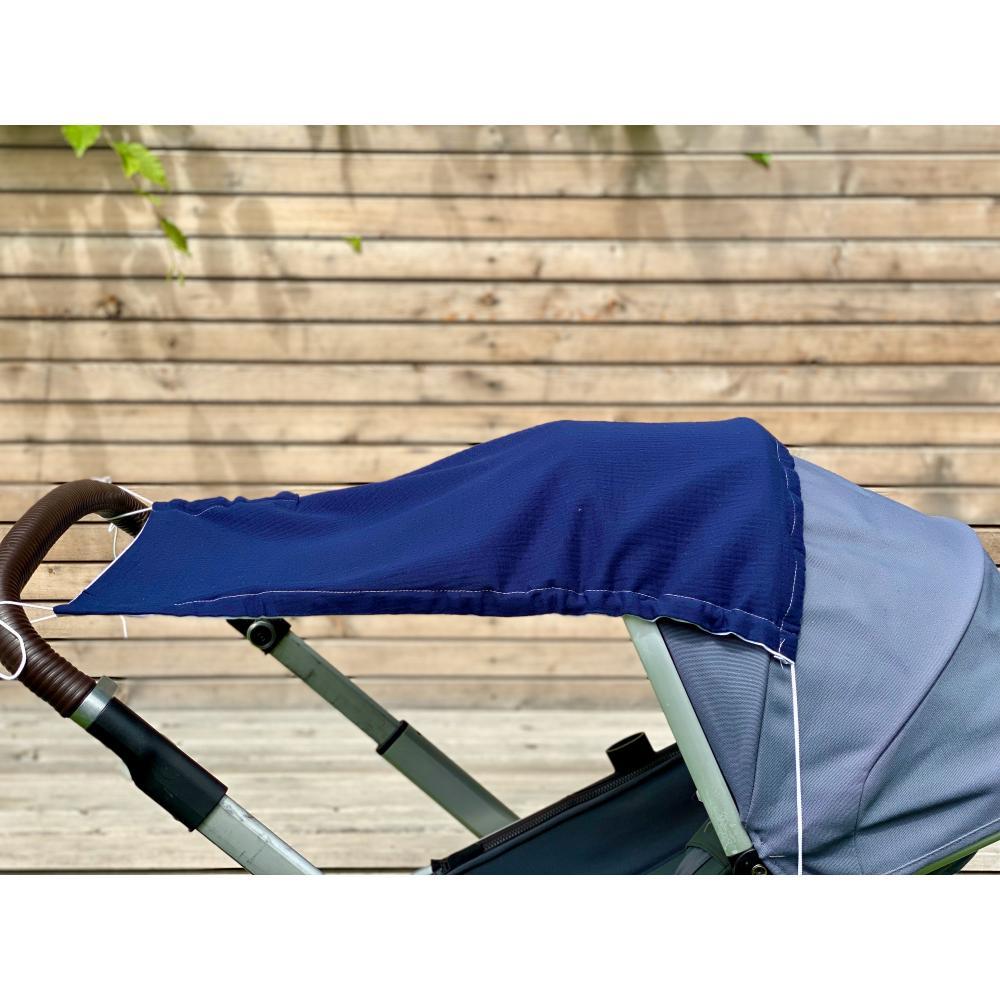 KraftKids Sonnensegel Musselin dunkelblau