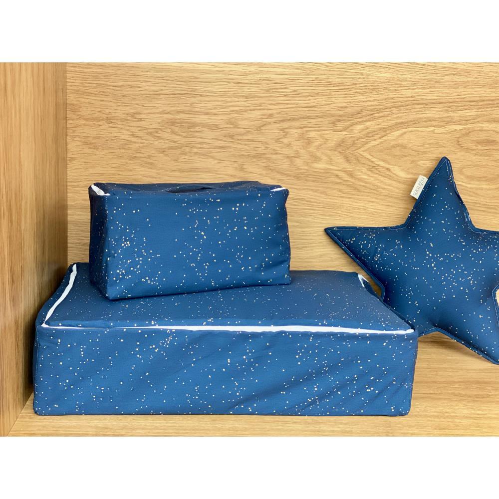 KraftKids Körbchen verschliessbar Sternenhimmel 30 x 18 x 15 cm