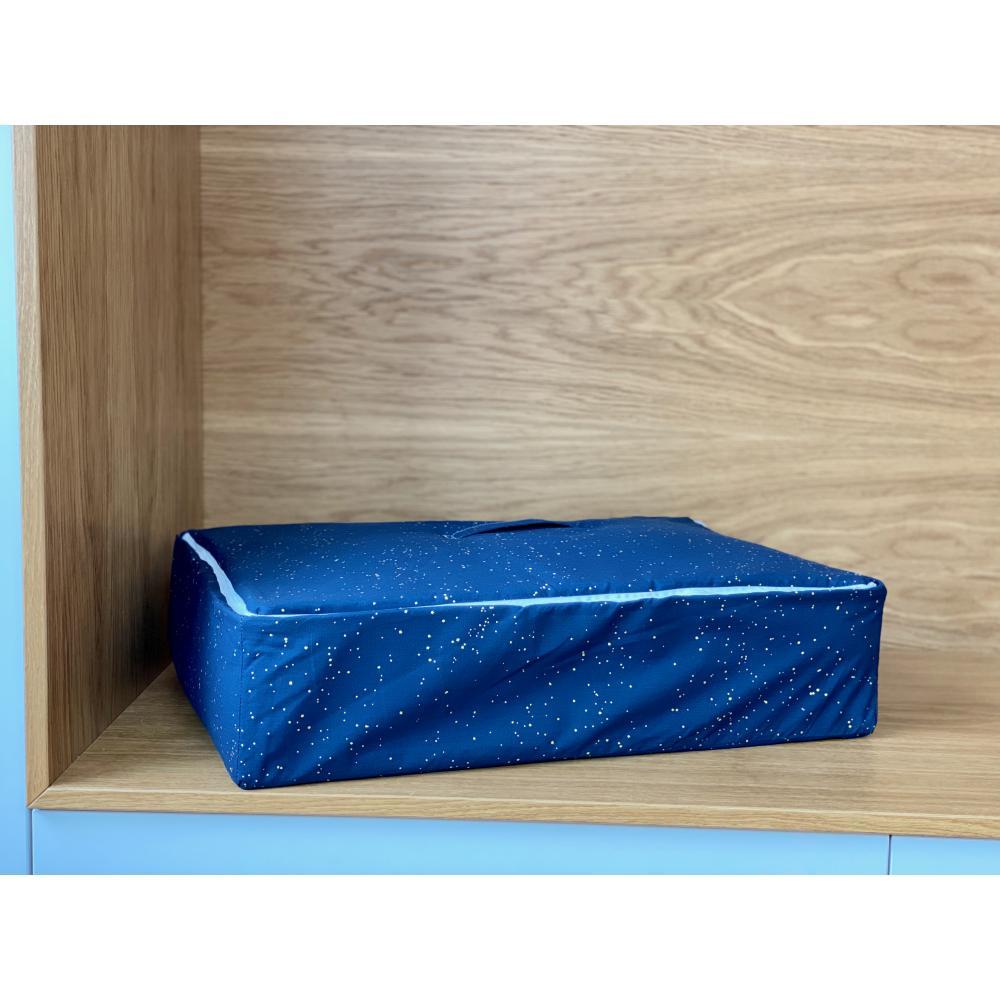 KraftKids Körbchen für Unterbett Sternenhimmel 60 x 40 x 17 cm