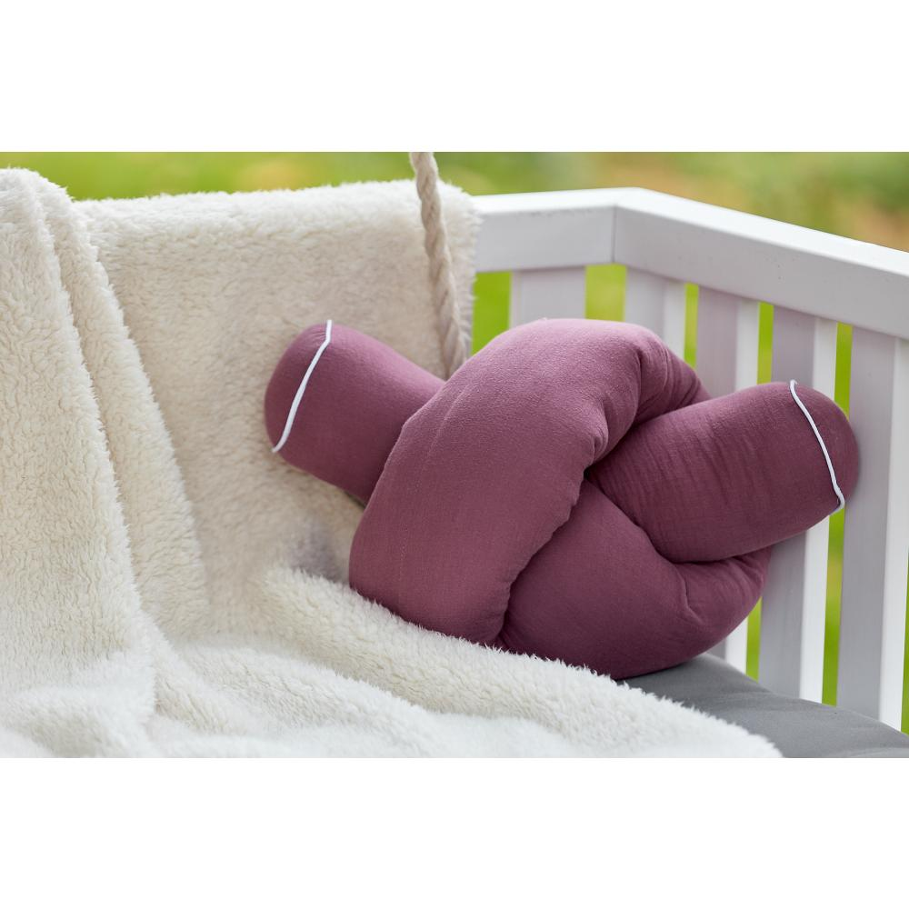 KraftKids Bettrolle Musselin purpur Stärke: 10 cm, Rollenlänge 100 cm