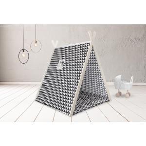 KraftKids Spielzelt schwarze Dreiecke