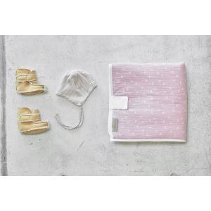 KraftKids Reisewickelunterlage Musselin rosa Pusteblumen 3 Lagen wasserundurchlässig weich Frotte 100% Baumwolle