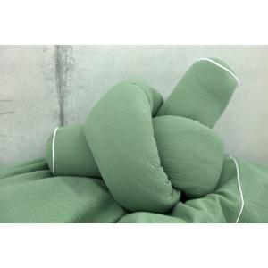 KraftKids Bettrolle Doppelkrepp Grün Jade Stärke: 10 cm, Rollenlänge 140 cm