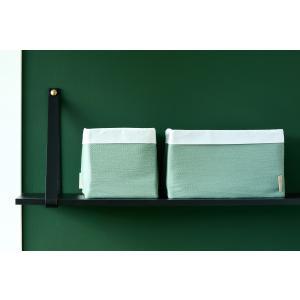KraftKids Körbchen Doppelkrepp Grün Jade 20 x 20 x 20 cm