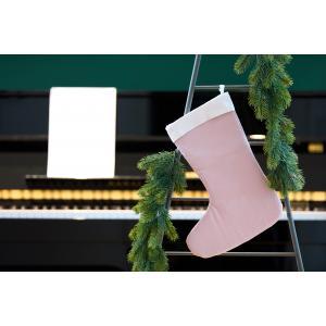 KraftKids Weihnachtssocke Doppelkrepp Rosa Weihnachtsstrumpf
