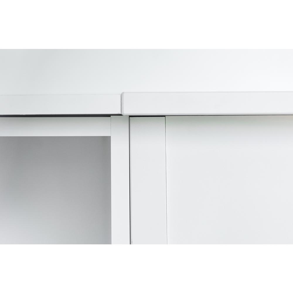 KraftKids Stauraumregal für Wickeltisch weiß passend für HEMNES Kommode