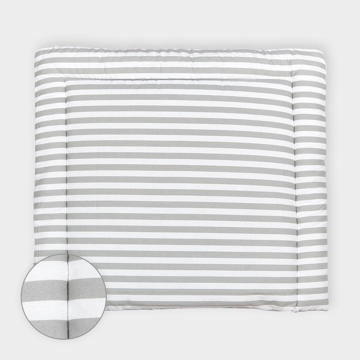 kraftkids wickelauflage dicke streifen grau breit 60 x tief 70 cm passend f r waschmaschinen. Black Bedroom Furniture Sets. Home Design Ideas