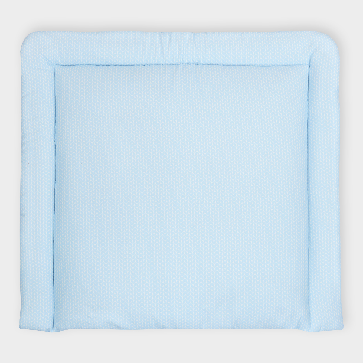 kraftkids wickelauflage kleine bl tter hellblau auf wei. Black Bedroom Furniture Sets. Home Design Ideas